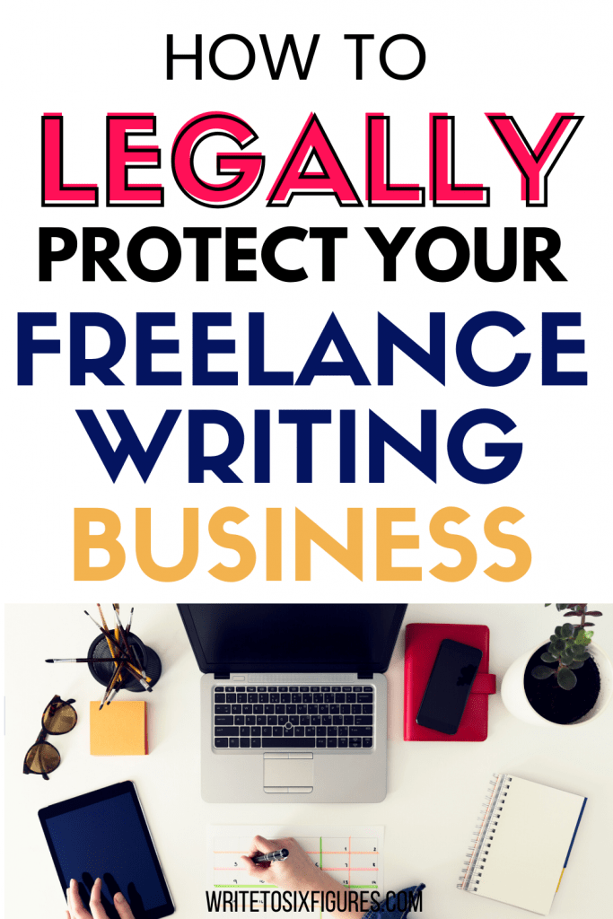 protect your freelance writing business