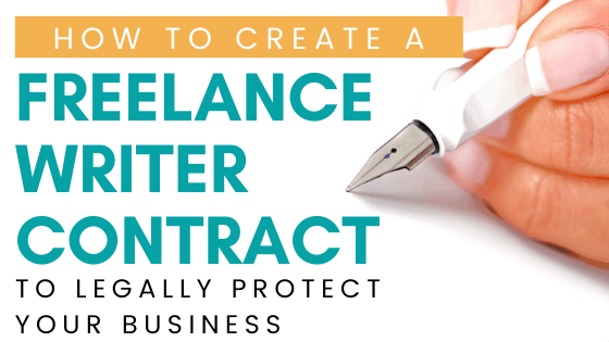 freelance writer contract