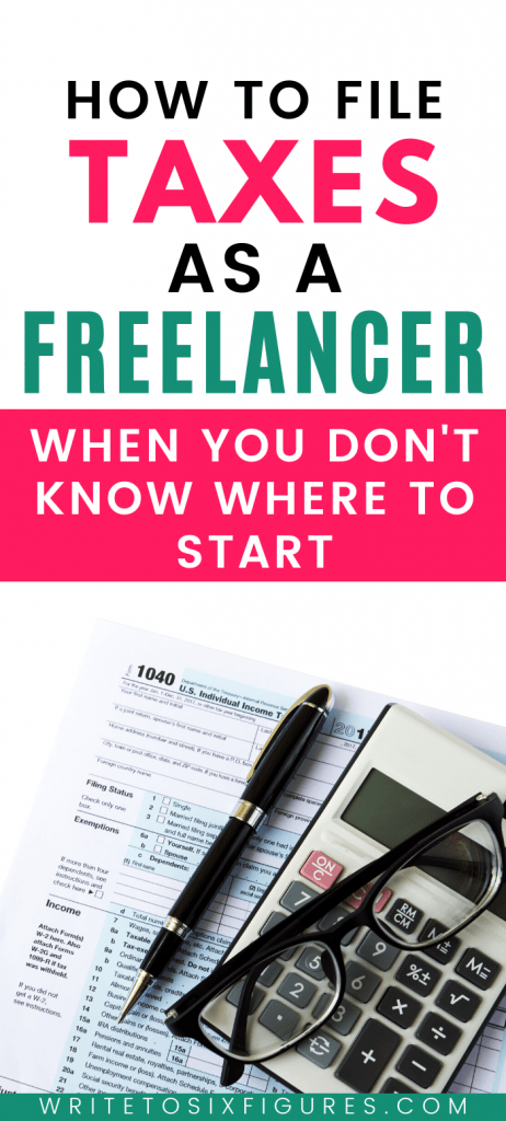 filing taxes as a freelancer