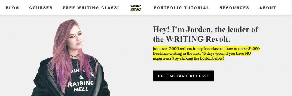 writer revolt