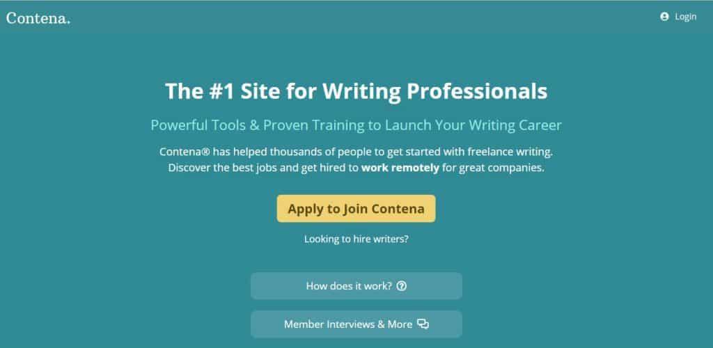 write for Contena
