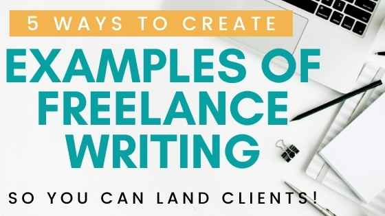 examples of freelance writing