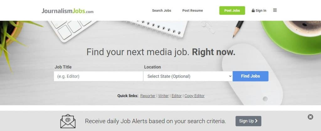 write for journalism jobs